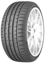 CONTINENTAL CONTISPORTCONTACT 3 245/45R19 98W SSR
